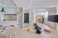 Ngôi nhà 35m2 có trần nhà hình vòng cung, thiết kế độc đáo khiến ai cũng phải trầm trồ