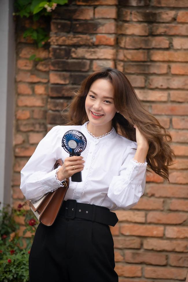 Xem Minh Hằng nhá hàng tạo hình trong phim mới mà phải công nhận: Đây chính là nàng công sở mặc đẹp top đầu màn ảnh Việt-1