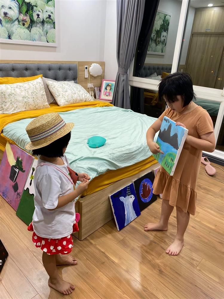 Hot mom Minh Trang khổ tâm kể chuyện 4 nhóc tì nghịch phá trong WC, nhưng nghe câu chốt ai cũng cười ngặt nghẽo-6