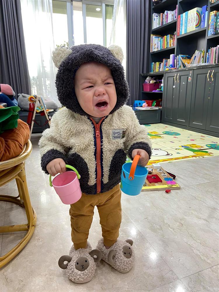 Hot mom Minh Trang khổ tâm kể chuyện 4 nhóc tì nghịch phá trong WC, nhưng nghe câu chốt ai cũng cười ngặt nghẽo-9