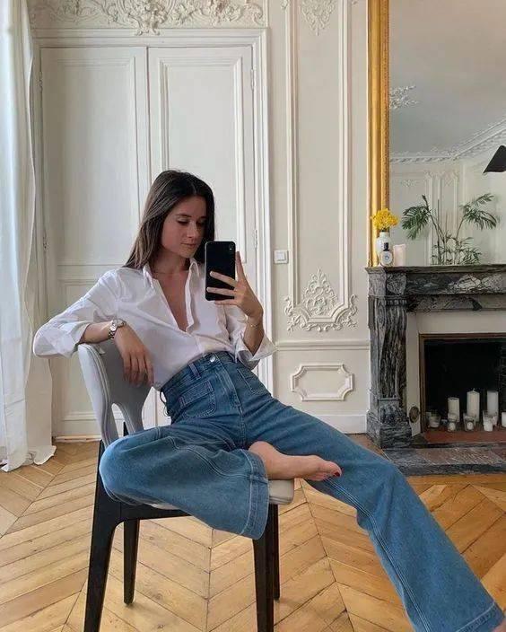 Kiểu quần jeans hack dáng cực đỉnh, vừa dài chân vừa tôn vòng 3 đỉnh của chóp đó các chị em-6