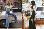 Kiểu quần jeans hack dáng cực đỉnh, vừa dài chân vừa tôn vòng 3 'đỉnh của chóp' đó các chị em