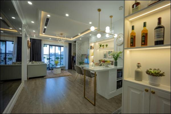 Từ căn hộ thô 83m2, cặp đôi Hà Nội dồn hết tình yêu, tâm huyết thiết kế không gian sống đúng sở thíchđẹp lung linh-1