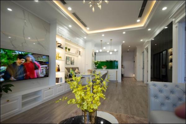 Từ căn hộ thô 83m2, cặp đôi Hà Nội dồn hết tình yêu, tâm huyết thiết kế không gian sống đúng sở thíchđẹp lung linh-2
