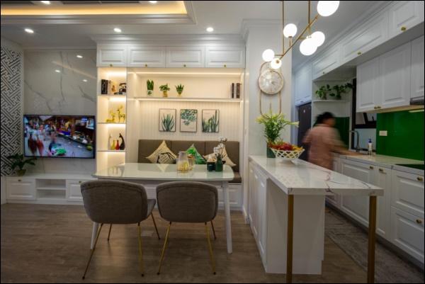 Từ căn hộ thô 83m2, cặp đôi Hà Nội dồn hết tình yêu, tâm huyết thiết kế không gian sống đúng sở thíchđẹp lung linh-4