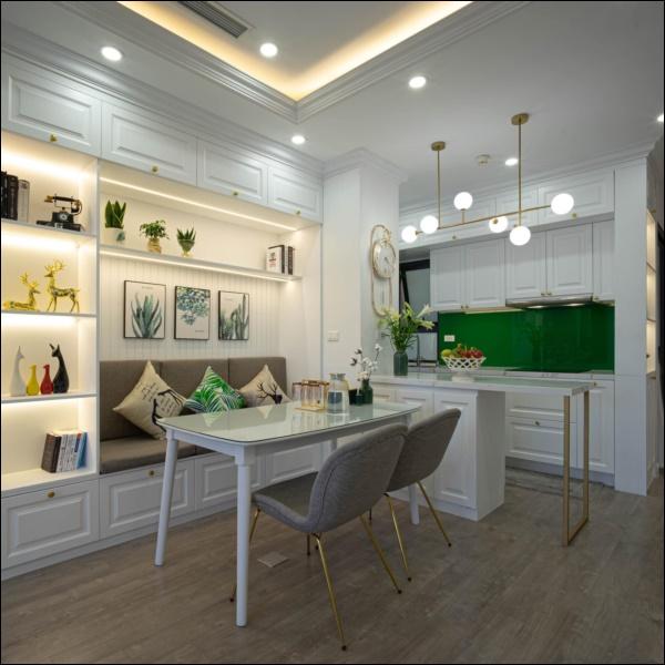 Từ căn hộ thô 83m2, cặp đôi Hà Nội dồn hết tình yêu, tâm huyết thiết kế không gian sống đúng sở thíchđẹp lung linh-5