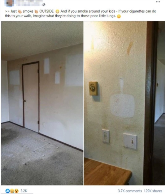 Khi biết nguyên nhân vì sao hai bức tường này lại ố vàng, nhiều người không khỏi kinh hãi và lo lắng-1