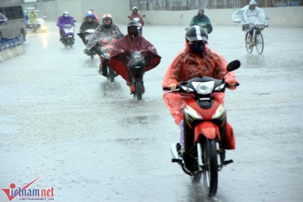 Dự báo thời tiết 16/4: Miền Bắc đón không khí lạnh, nhiều nơi mưa rất to-1