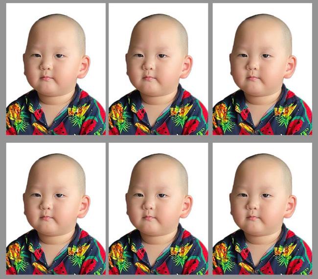 Dân mạng cười xỉu với ảnh thẻ của con trai Trà My Idol, nhà con 3 đời nghiêm túc mà sao cô chú lại cười?-2