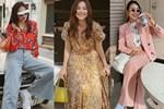 Thanh Hằng diện cả loạt đồ bình dân giá rẻ, từ váy hoa điệu đà đến suit công sở đều max xinh