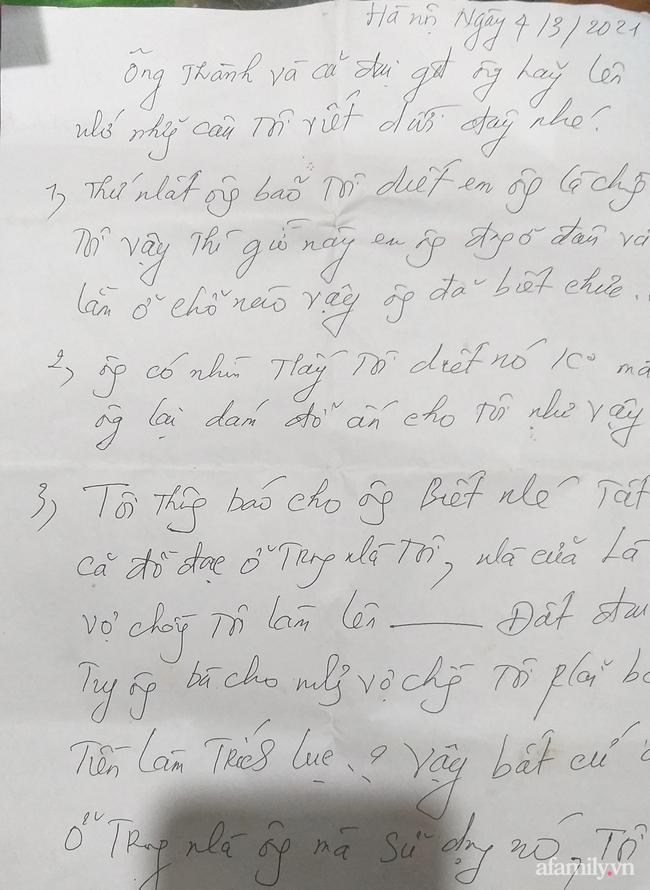 Vụ 2 vợ chồng lần lượt mất tích bí ẩn ở Thanh Hóa: Người vợ gửi thư cho anh chồng với nội dung tôi sẽ bóp cổ từng người một-3