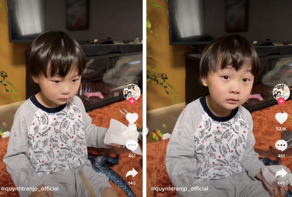 Quỳnh Trần JP vấp phải ý kiến trái chiều khi xưng tao gọi bé Sa là mày trong clip phạt con tung lên mạng-1