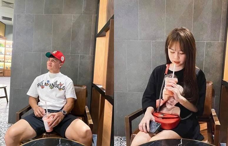 Lộ hint hẹn hò của Quang Hải và bạn gái hơn 3 tuổi: Check-in chung chỗ, đằng gái còn viết caption thả thính rợp trời-2