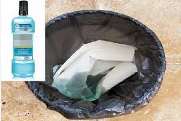 Nước súc miệng cũng có thể được sử dụng để làm việc nhà, đặc biệt nếu đổ vào máy giặt điều kỳ diệu sẽ xảy ra-2