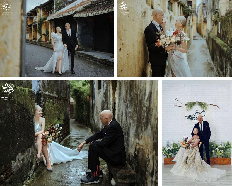 Chuyện tình của cặp đôi vợ Việt chồng Mỹ chênh nhau 37 tuổi: Cô dâu làm việc táo bạo trước ngày chụp ảnh cưới khiến chú rể khóc ngay tại chỗ!-9
