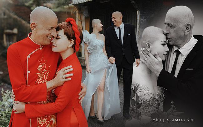Chuyện tình của cặp đôi vợ Việt chồng Mỹ chênh nhau 37 tuổi: Cô dâu làm việc táo bạo trước ngày chụp ảnh cưới khiến chú rể khóc ngay tại chỗ!-1