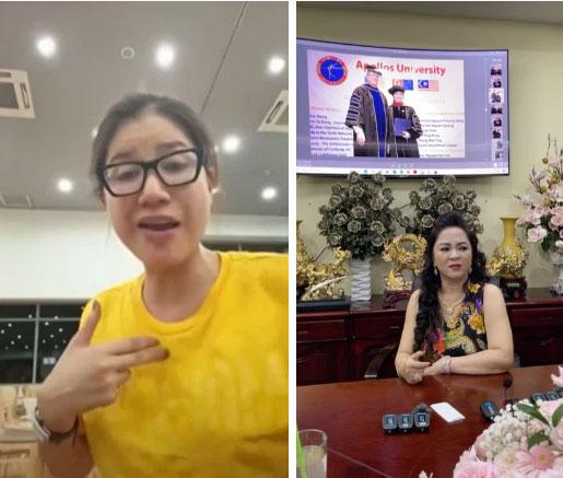 Trang Trần livestream gửi lời tới bà Phương Hằng - vợ Dũng lò vôi: Cháu nghèo hơn cô thật, cháu đeo hột xoàn giả nhưng cháu cũng đâu xin tiền cô-1