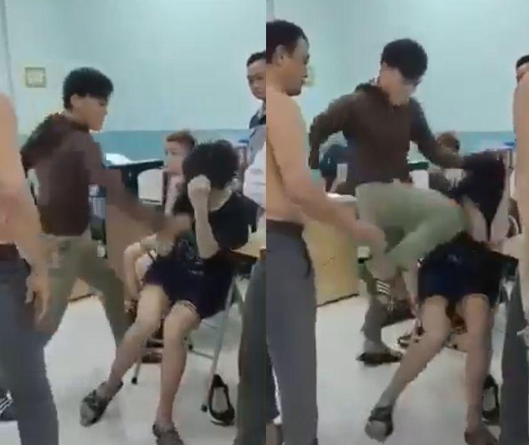 Công bố kết luận giám định thương tích 2 thiếu niên bị bảo vệ dân phố đánh tại trường THCS Nguyễn Văn Tố-1