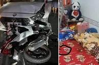 Hé lộ hiện trường căn phòng trọ vụ thanh niên sát hại bạn gái rồi lao xe máy tông trực diện vào ôtô tự tử