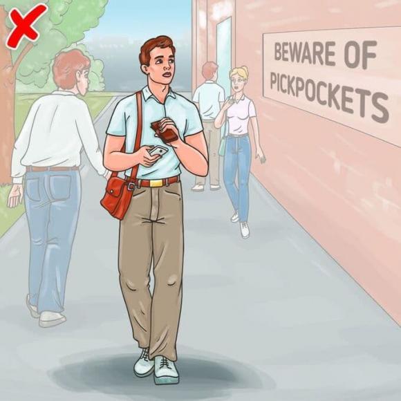 9 mẹo bảo vệ bản thân khỏi bị móc túi, ai cũng nên biết-1
