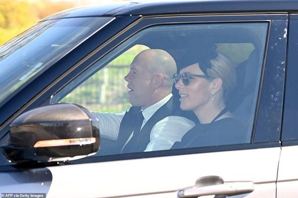 Các thành viên Hoàng gia Anh lần lượt xuất hiện, di chuyển đến nơi tổ chức tang lễ của Hoàng tế Philip-7