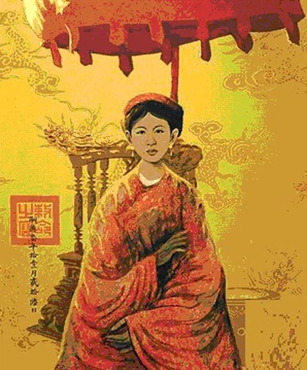 Nữ hoàng đế duy nhất của Việt Nam và chuyện tình bi kịch: Phải nhường ngôi cho chồng khi 7 tuổi, không thể sinh con nên chồng cưới chị dâu đang mang thai làm Hậu!-3