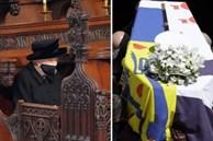 Toàn cảnh lễ tang Hoàng tế Philip: Nữ hoàng Anh cô độc nhiều lần rơi nước mắt, Thái tử Charles bật khóc đưa tang cha, hàng trăm người dân tiếc thương