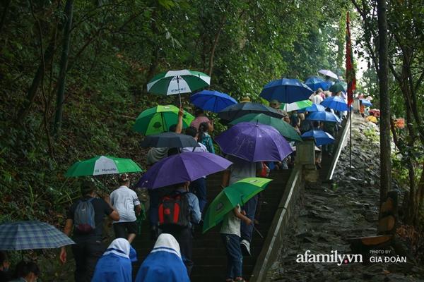Ảnh: Hàng nghìn người đội mưa về dự lễ Giỗ Tổ Hùng Vương-8
