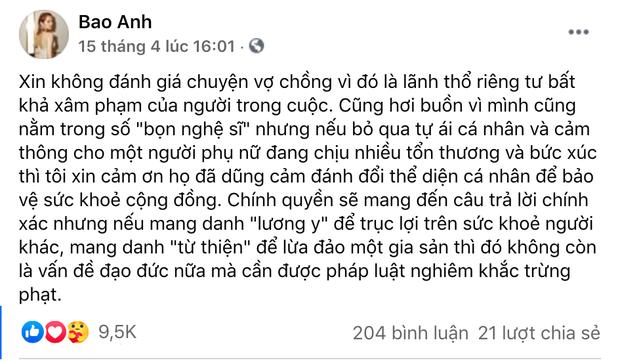 Toàn cảnh drama của dàn sao Việt và vợ Dũng lò vôi: Từ phát ngôn đám nghệ sĩ đến gọi tên NS Hoài Linh, khẩu chiến với Trang Khàn, Trịnh Kim Chi-4