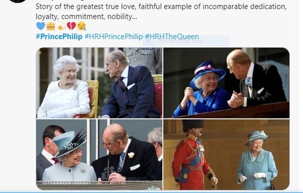 Khoảnh khắc gây nhói lòng trong đám tang Hoàng tế Philip: Nữ hoàng Anh ngồi lặng lẽ tại nơi mà trước đây luôn có chồng nhìn sang trìu mến-18