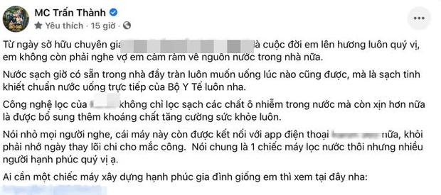 Netizen soi chi tiết tố Trấn Thành trước sau bất nhất: Lên mạng khẳng định dùng hãng A để PR, ở nhà lại xài hãng B, liệu có đáng bị chỉ trích?-2