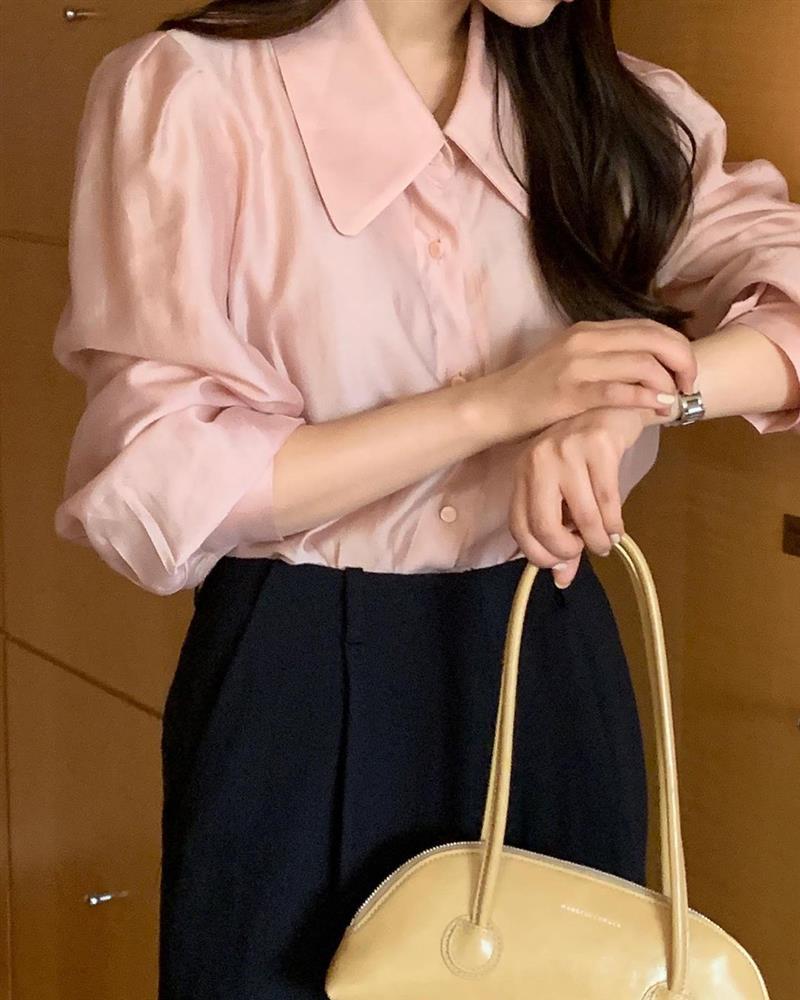 Muốn style công sở bớt nhạt, gái Hàn khuyên bạn nên thêm 4 màu sắc này vào tủ đồ-1