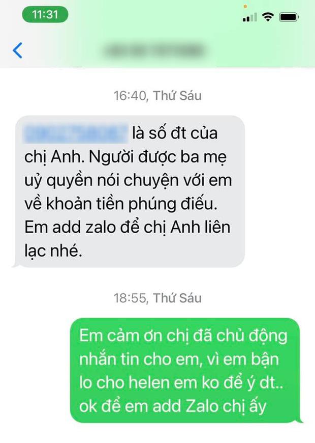 Linh Lan tuyên bố không nhận tiền phúng điếu, ẩn ý vợ cũ NS Vân Quang Long đứng sau vụ đòi giấy tờ huyết thống của bé Helen?-3