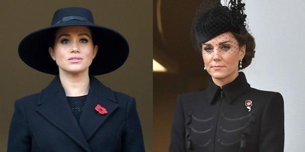 Đẳng cấp như Công nương Kate: Chỉ với loạt cử chỉ trong tang lễ Hoàng tế Philip đủ làm lu mờ chiêu trò của Meghan ở trời Mỹ-9