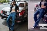 Ngọc Trinh khoe chiếc quần jeans 140 triệu, là đắt thật hay 'nổ giá' câu view