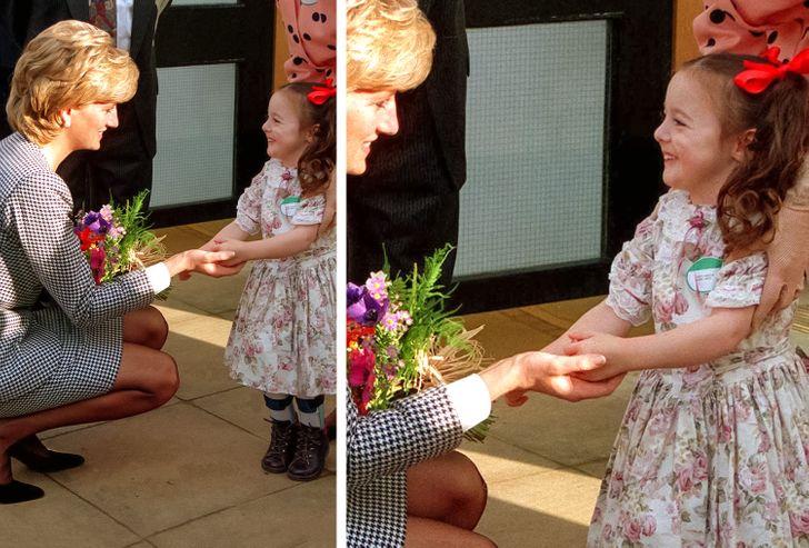 Công nương Diana luôn cúi xuống ngang tầm mắt khi nói chuyện với trẻ nhỏ, bí mật tuyệt vời phía sau khiến nhiều cha mẹ thấy thán phục-1