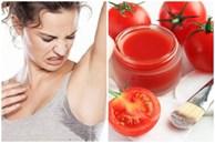 Mẹo đánh bay mùi hôi dưới cánh tay với quả cà chua