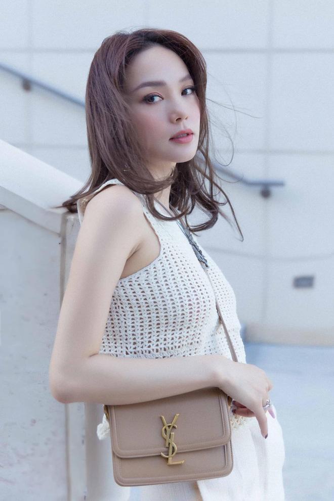 Minh Hằng ngày càng  xinh đẹp, còn được tung hô là nữ thần trên báo Trung: Hoá ra là do đang yêu?-6