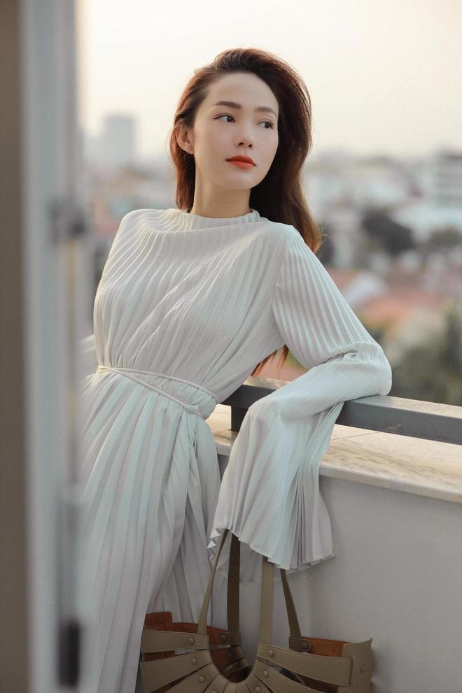 Minh Hằng ngày càng  xinh đẹp, còn được tung hô là nữ thần trên báo Trung: Hoá ra là do đang yêu?-3