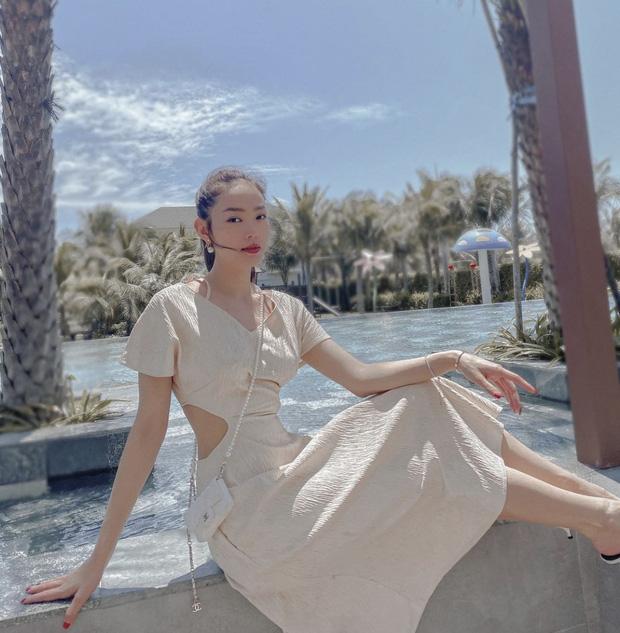 Minh Hằng ngày càng  xinh đẹp, còn được tung hô là nữ thần trên báo Trung: Hoá ra là do đang yêu?-19