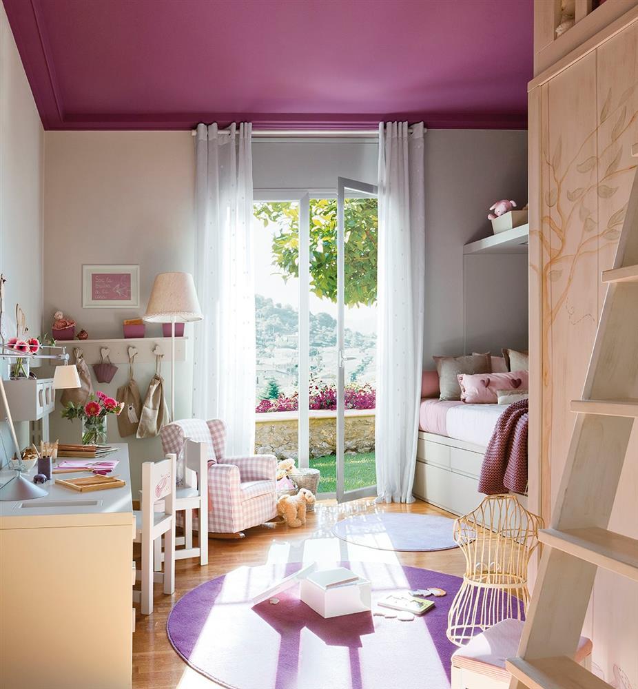 Cải tạo phòng ngủ cho bé gái: Bố mẹ chẳng cần cầu kỳ hoặc đầu tư tốn kém mà vẫn khiến con thích mê-1