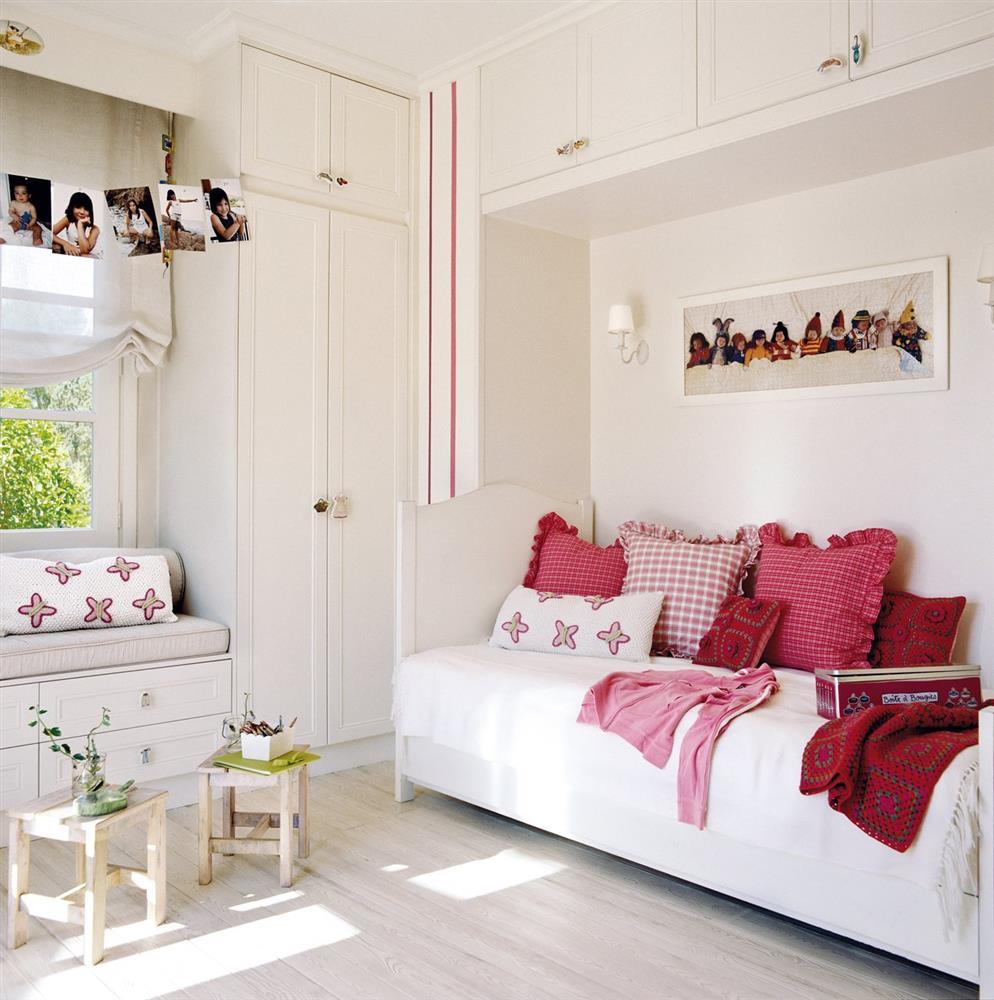 Cải tạo phòng ngủ cho bé gái: Bố mẹ chẳng cần cầu kỳ hoặc đầu tư tốn kém mà vẫn khiến con thích mê-2