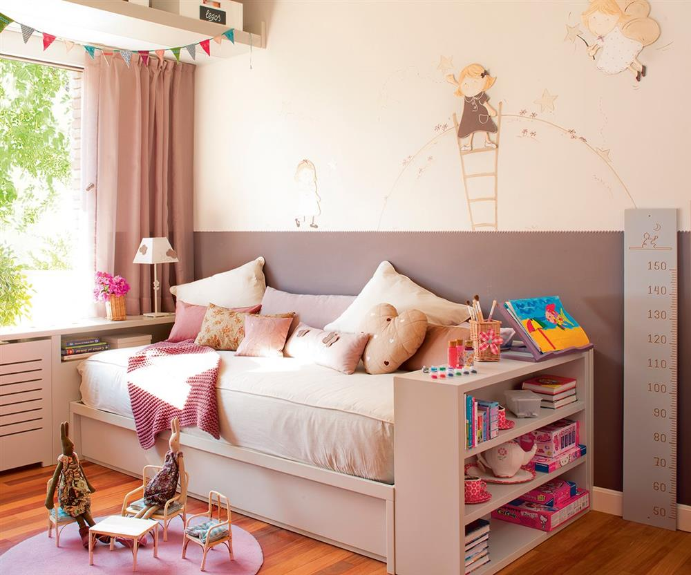 Cải tạo phòng ngủ cho bé gái: Bố mẹ chẳng cần cầu kỳ hoặc đầu tư tốn kém mà vẫn khiến con thích mê-3