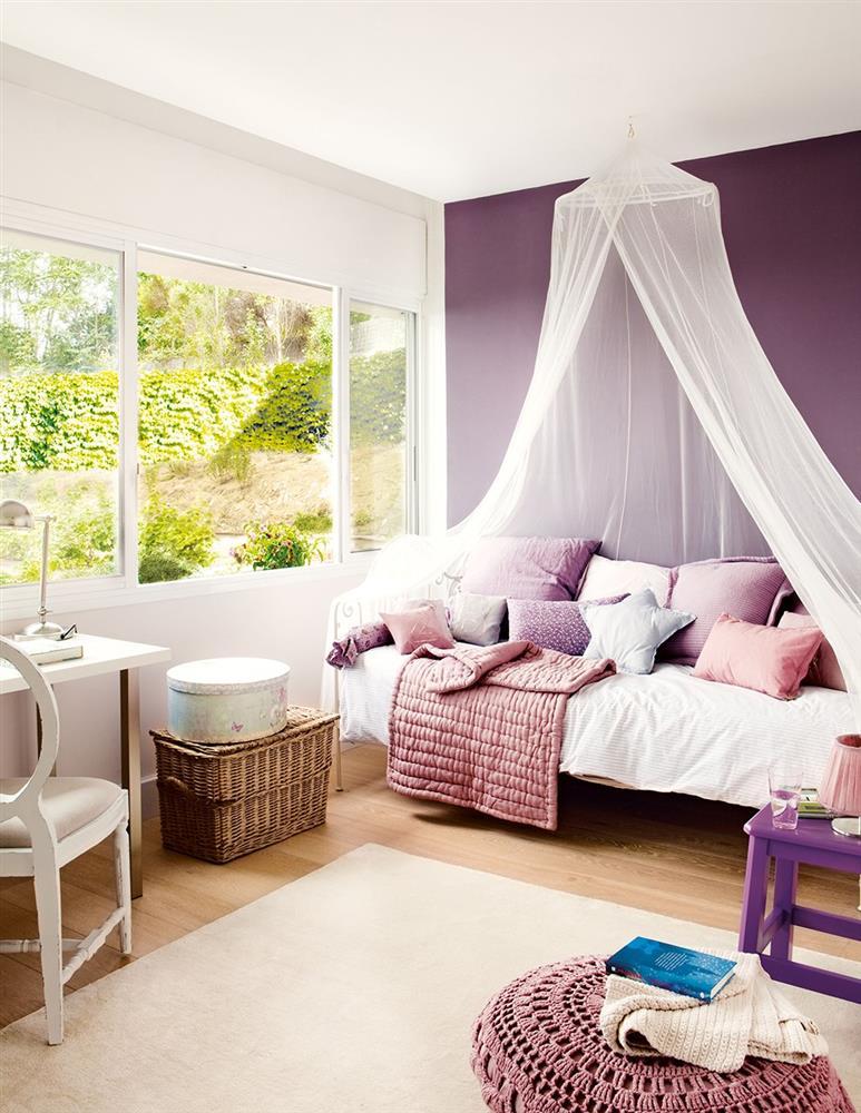 Cải tạo phòng ngủ cho bé gái: Bố mẹ chẳng cần cầu kỳ hoặc đầu tư tốn kém mà vẫn khiến con thích mê-5