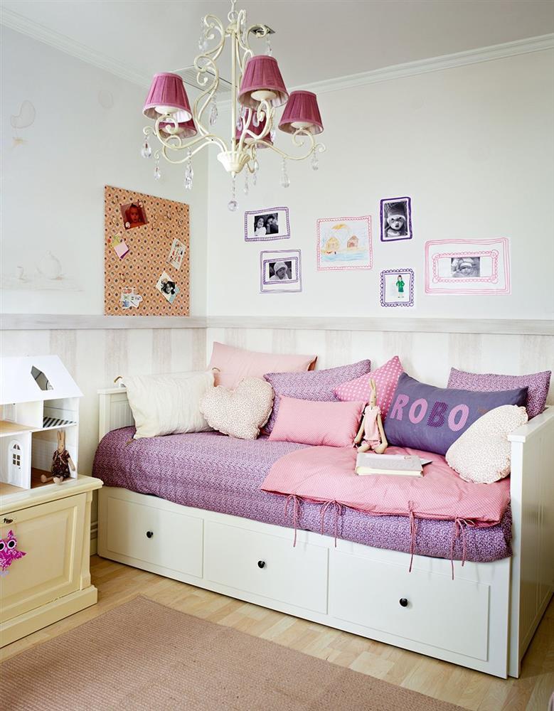 Cải tạo phòng ngủ cho bé gái: Bố mẹ chẳng cần cầu kỳ hoặc đầu tư tốn kém mà vẫn khiến con thích mê-6