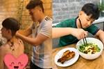 Chỉ một hành động nhỏ là đủ thấy tình thương của chồng trẻ Lê Phương dành cho Cà Pháo, cách mẹ chăm sóc con cũng thật đáng nể!