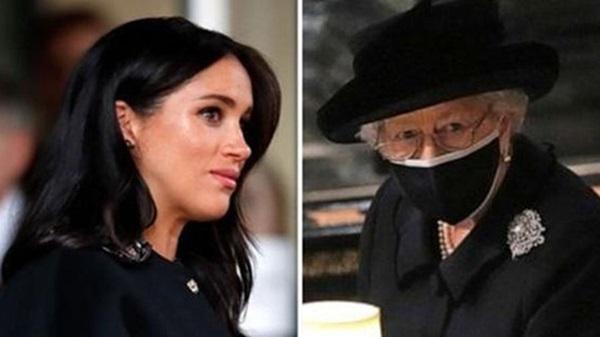 Chuyên gia vạch trần chiêu trò của Meghan Markle khi gửi vòng hoa và thư tay đến tang lễ Hoàng tế Philip: Một mũi tên trúng hai đích!-4
