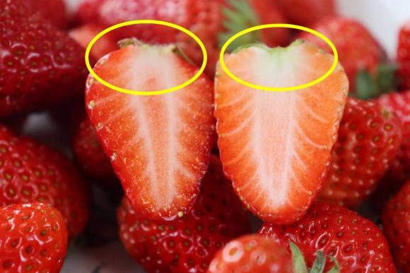 Chọn dâu tây không bị tiêm hormone, nhìn vào vị trí này là bạn sẽ biết, đừng tùy tiện mua sau khi đọc 5 mẹo dưới đây-10