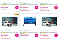 Tivi hạng sang giảm giá sâu, sale 50% coi chừng dính hàng tồn