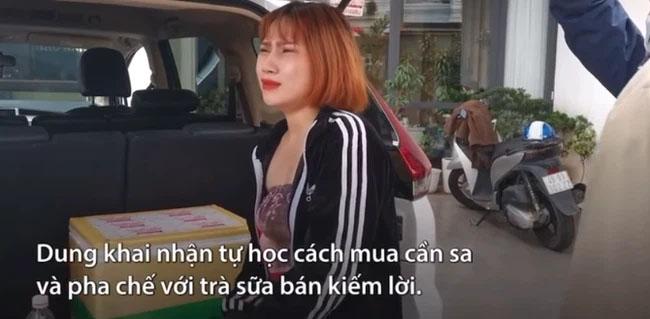 Cô gái nấu trà sữa cần sa bán cho khách du lịch: Em nhấp một xíu thôi vì còn phải chạy xe-2